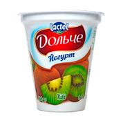 Йогурт Дольче 280г 3.2 ківі