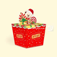 Подарунок Рошен 409г новорічне свято