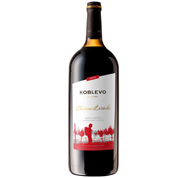 Вино Коблево 1.5л бордо шато ларош н.сол. черв.