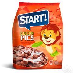 Пластівці Старт 500г какао зерновий
