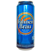 Пиво Fahnenbrau 0.5л з.б