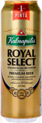 Пиво Kalnapilis Royal Select 0.568 л  з б