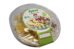Салат Курка з ананасами уп