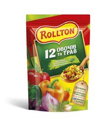 Приправа Роллтон 200г 12 овочив i трав гранули