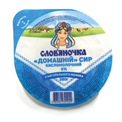 Сир Слов`яночка домашнi 280г 5%