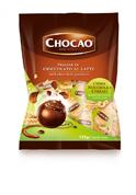 Цукерки праліне Chocao молочний шоколад з кремом лісові горіхи-злаки 125 г м уп