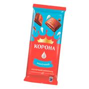 Шоколад Корона 85г молочний