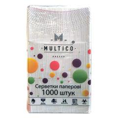 Серветки Multico 1000шт білі