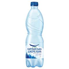 Вода Карпатська Джерельна 0.5л