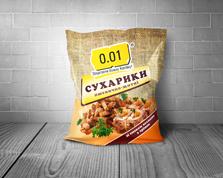 Сухарики 0.01 70г пшенично-житні холодець хрін