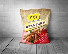 Сухарики 0.01 70г пшенично-житні краб