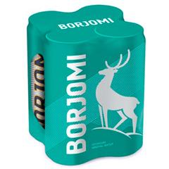 Вода Боржомі 0.33л х4 газ з.б