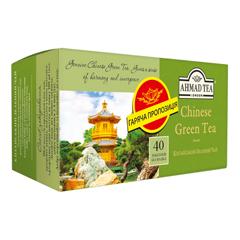 Чай Ахмад 40п китайський зелений