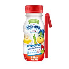 Йогурт Растишка 185г банан 1.5% п.е