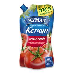 Кетчуп Чумак 270г томатний д.п