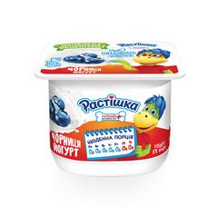 Йогурт Растiшка 115г 2% чорниця