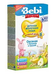 Каша Бебі 200г овсянка банан груша мол.преміум