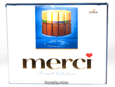 Шоколад Мерсі 250г молочний