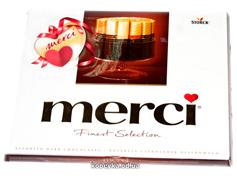 Шоколад Мерсі 250г ассорти