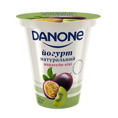 Йогурт Данон 260г 2.5% маракуйя кiвi ст.
