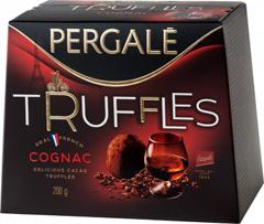Цукерки Pergale 200гр трюфелі cognac.