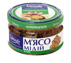 М`ясо мідії Veladis 200г в олії
