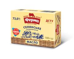 Масло Ферма 180г 73% селянське