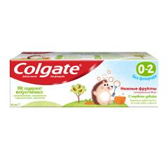 З.п.Колгейт 40мл 0-2 ніжні фрукти  без фториду