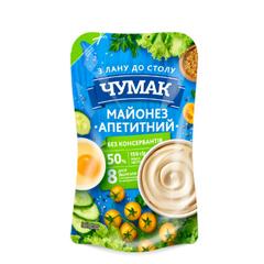 Майонез Чумак 150г апетитний 50% дп