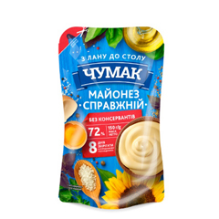 Майонез Чумак 150г справжній 72% дп