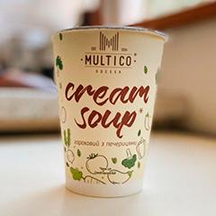 Крем суп Multico 45г гороховий з печерицями