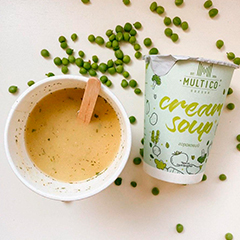 Крем суп Multico 45г гороховий