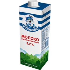 Молоко Простоквашино 950г 3.2% ультрапастеризоване