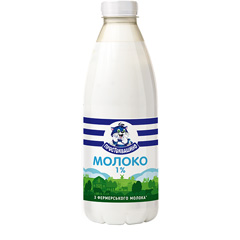 Молоко Простоквашино 870г 1%