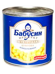 Кукурудза Бабусин продукт 340г ж.б