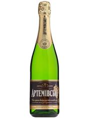 Шампанське Артемівське 0.75л н.солодке біле вітрімане
