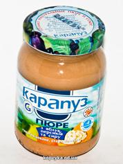 Пюре Карапуз 200г яблуко персик сир