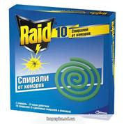 Спіраль від комарів Рейд 10шт
