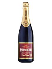 Шампанське Артемівське 0.75л н.солодке червоне вітрімане