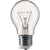 Лампочка Philips 60W звичайна прозора А60 Е27