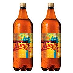 Пиво Янтарь 2л светлое