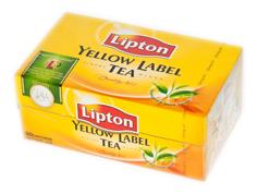 Чай Ліптон 50п ярлик
