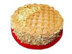 Торт 0.01 карамельно-ореховый 22