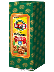 Сир Комо російський 50% волоський горіх