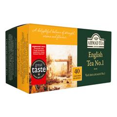 Чай Ахмад 40п англійський №1