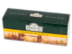 Чай Ахмад 25п англійський №1 ярлик