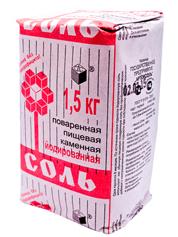 Сіль Артемсіль 1.5кг йод кам`яна картон