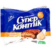 Печиво Супер Контік 50г згущене молоко