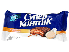 Печиво Супер Контік 100г згущене молоко