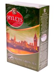 Чай Хейліс 100г англійський зелений чай ганпаудер
